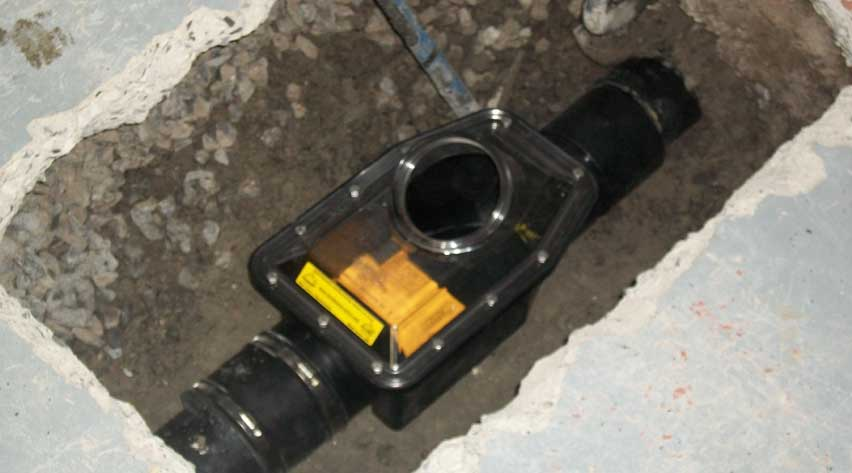 mainline backwater valve installation toronto brothers plumbing