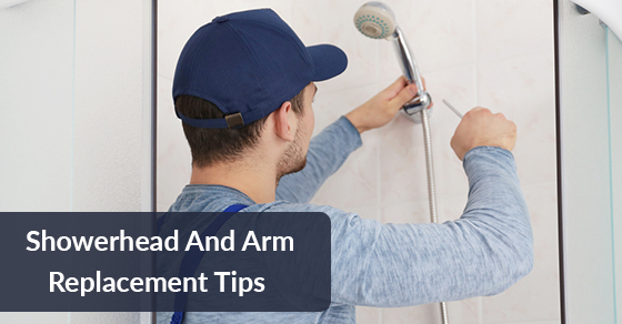 Showerhead And Arm Replacement