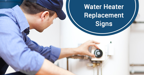 Water Heater Replacement Signs