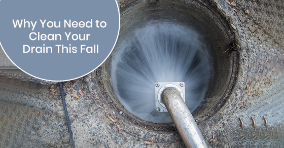 Why you need to clean your drain this fall