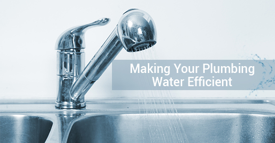 Making Your Plumbing Water Efficient