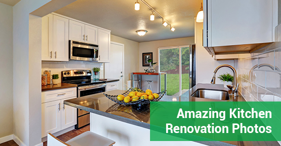 Amazing Kitchen Renovation Photos