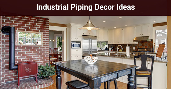 Industrial Piping Decor Ideas