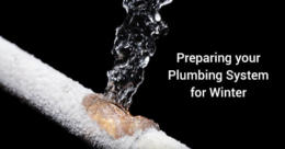 Preparing your Plumbing System for Winter