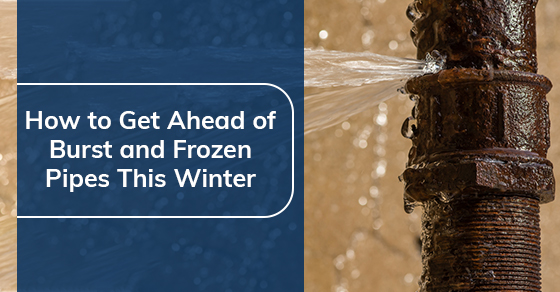 How to Get Ahead of Burst and Frozen Pipes This Winter