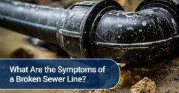 What Are the Symptoms of a Broken Sewer Line
