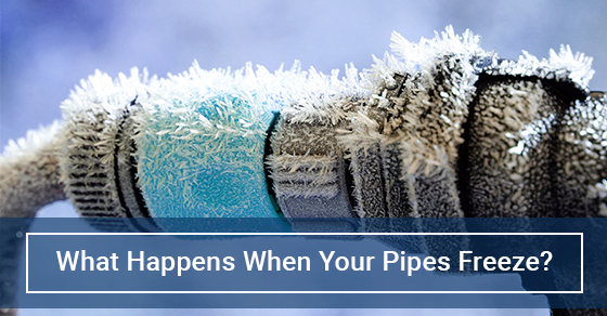 What Happens When Your Pipes Freeze?