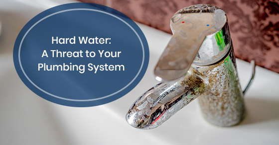 Problems caused by hard water to your plumbing system