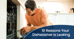 Reasons why your dishwasher is leaking