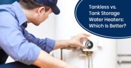 Should I choose a tankless or a tank storage water heater for home?
