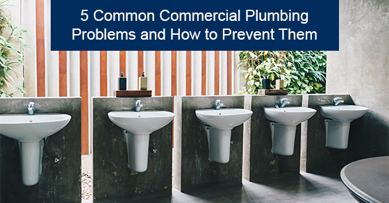 5 common commercial plumbing problems and how to prevent them