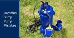 Mistakes to avoid when using a sump pump